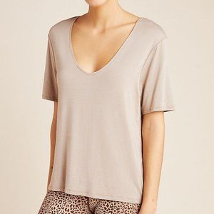 Anthropologie NWT's Varley Holly Tee in Size Large